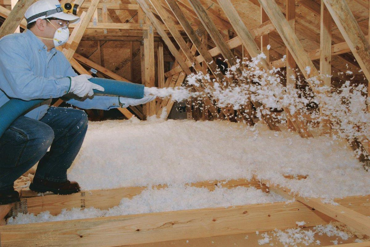 20 Cheap Home Repairs That Could Save You Thousands Blown In Insulation Attic Renovation Fiberglass Insulation