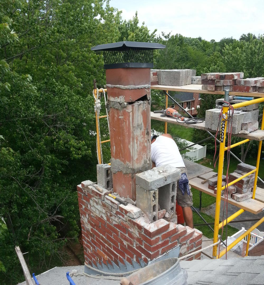 2021 Chimney Rebuild Cost Stack Fireplace Replacement Estimates