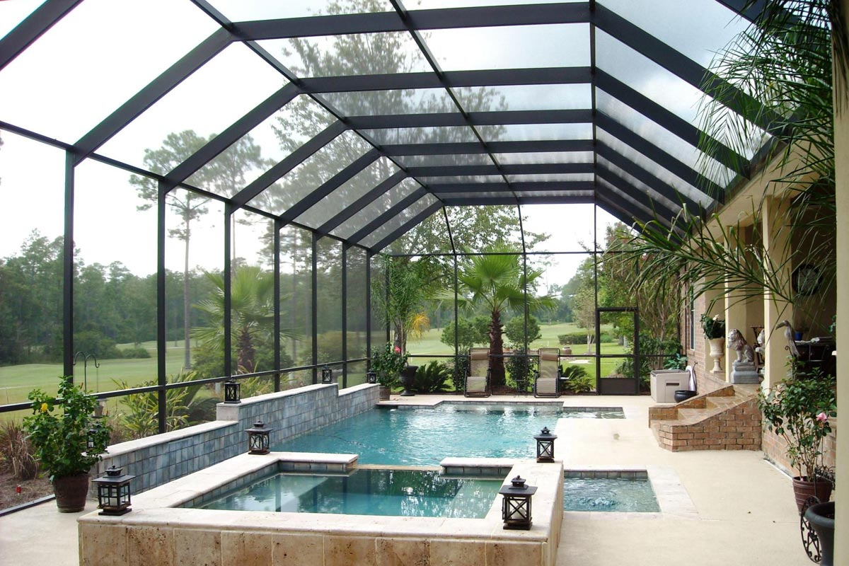 2021 Pool Enclosure Cost Glass Screen Enclosure Prices