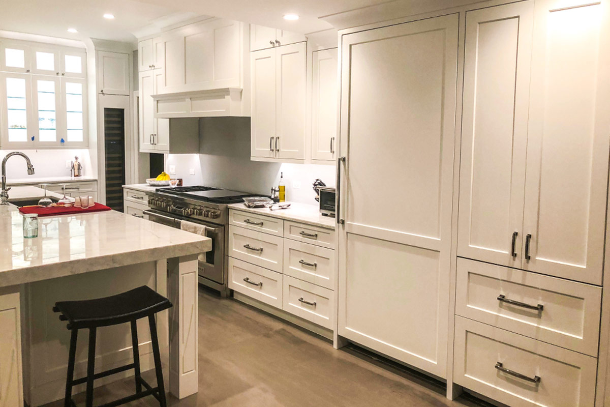 4 Average Cost of Kitchen Cabinets  Install Prices Per Linear Foot