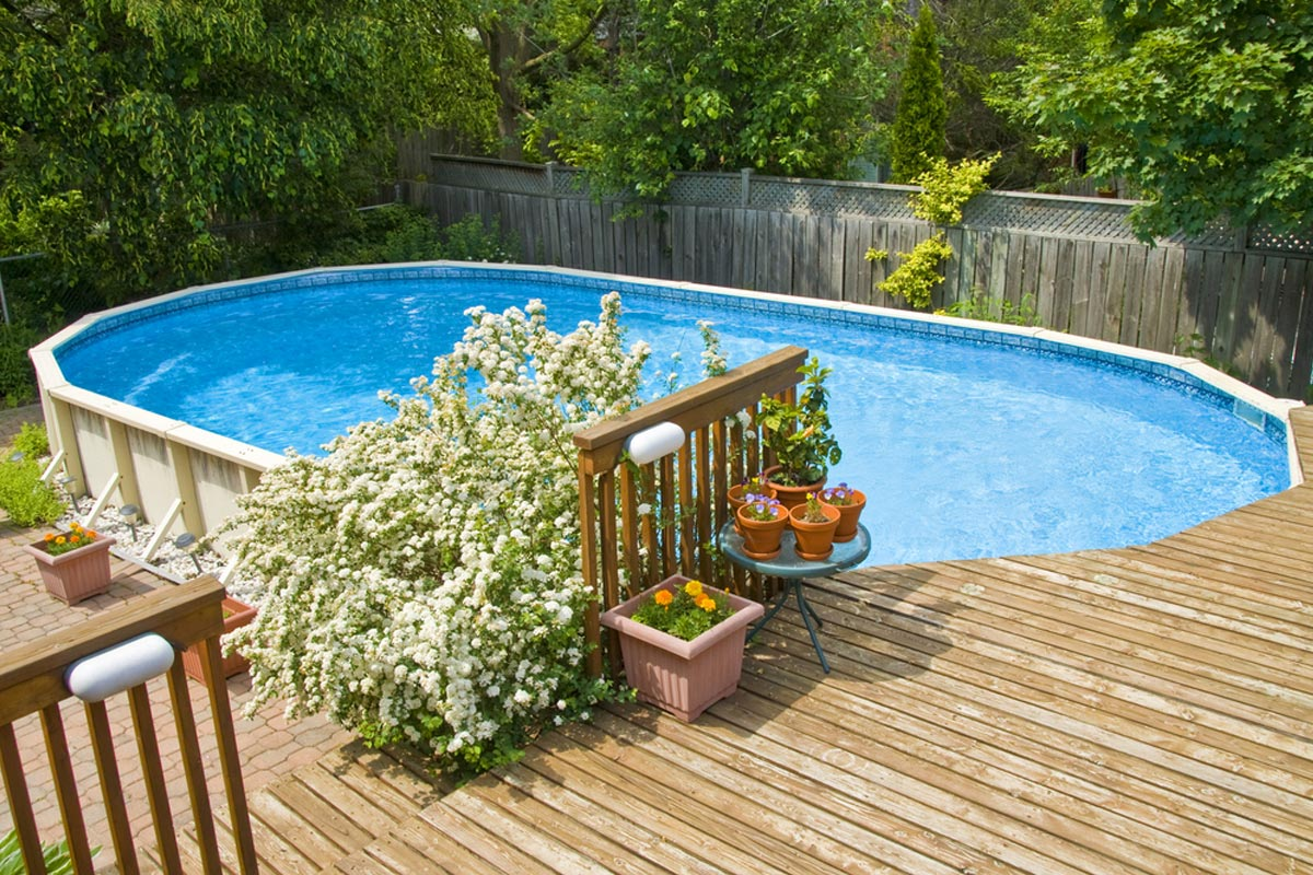 2021 Above Ground Pool Prices Average Installation Costs With Deck
