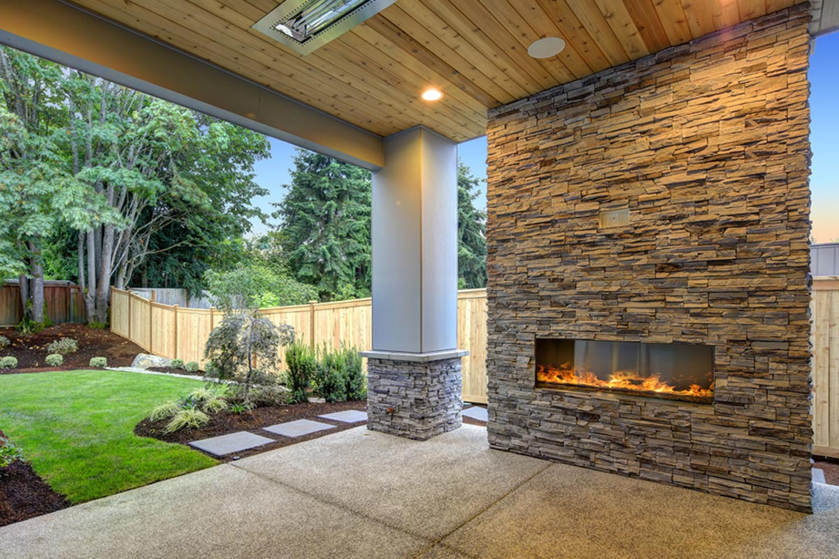 2020 Fireplace Installation Costs Gas Wood Burning Electric