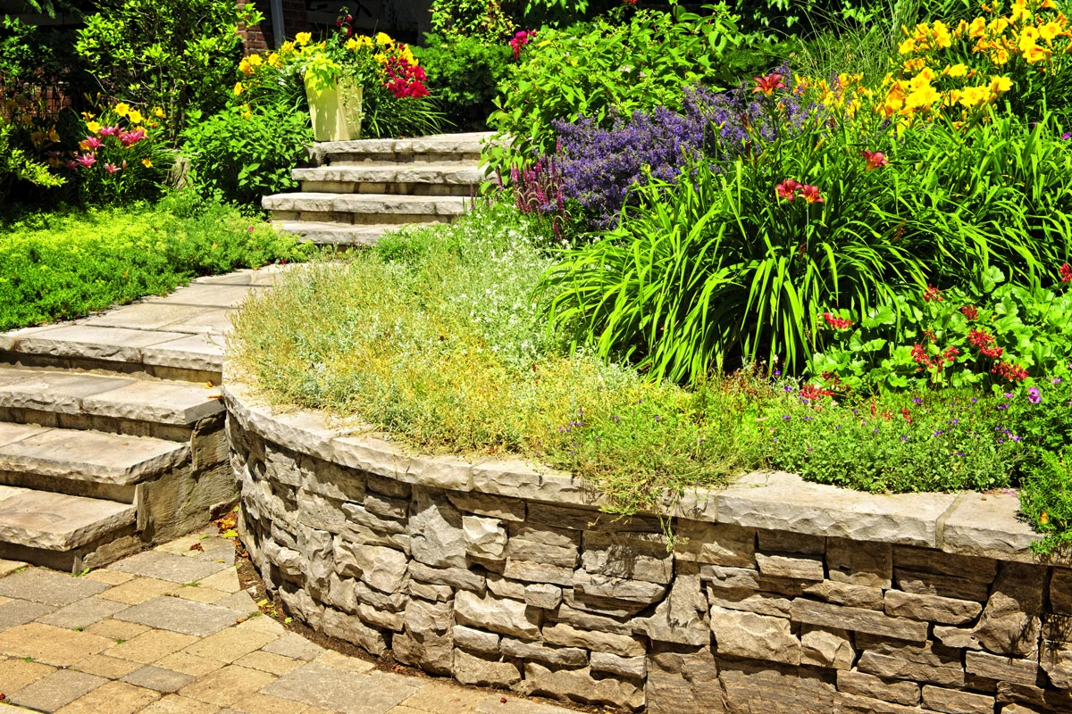 2020 Retaining Wall Cost Concrete Stone Wood Block Prices