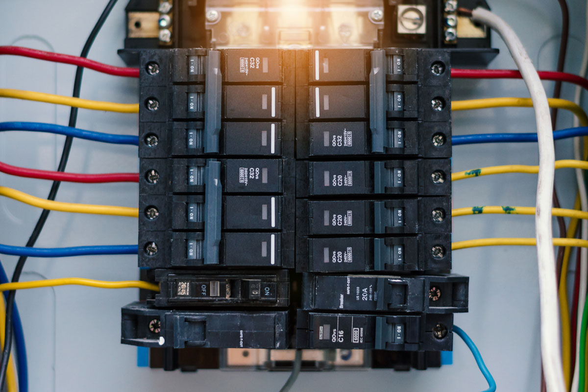 2019 Cost To Replace Electrical Panel | Upgrade Breaker Box Amps  Amp Load Box Wiring Diagram on