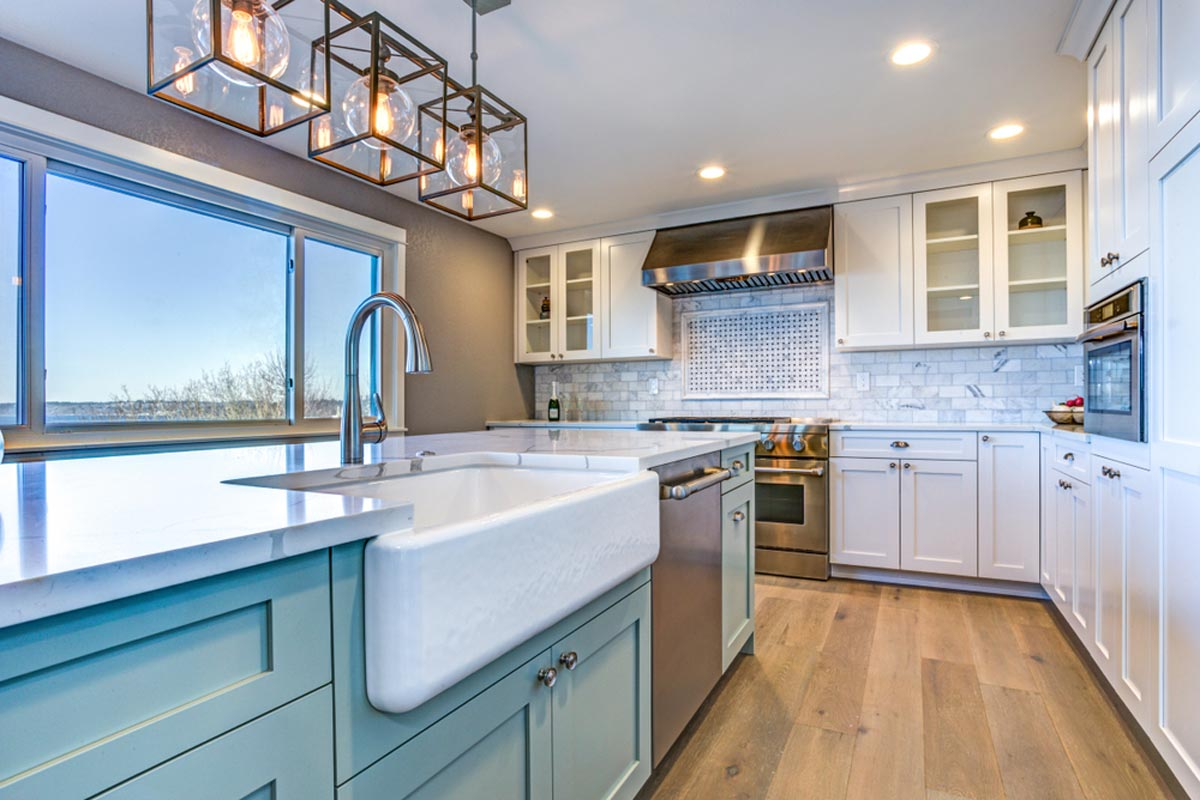 2020 Cost To Paint Kitchen Cabinets Professional Repaint