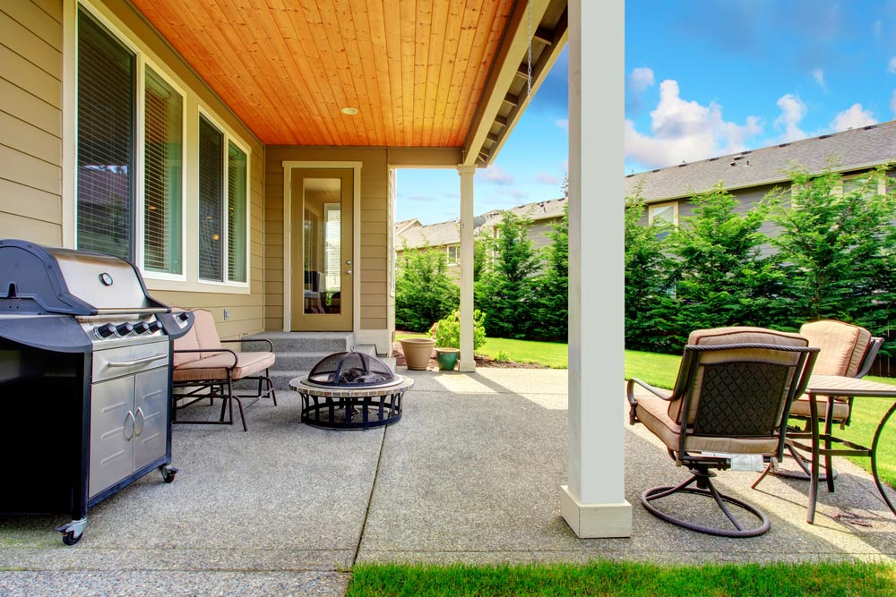 2020 Concrete Patio Cost Average Cost To Pour Install