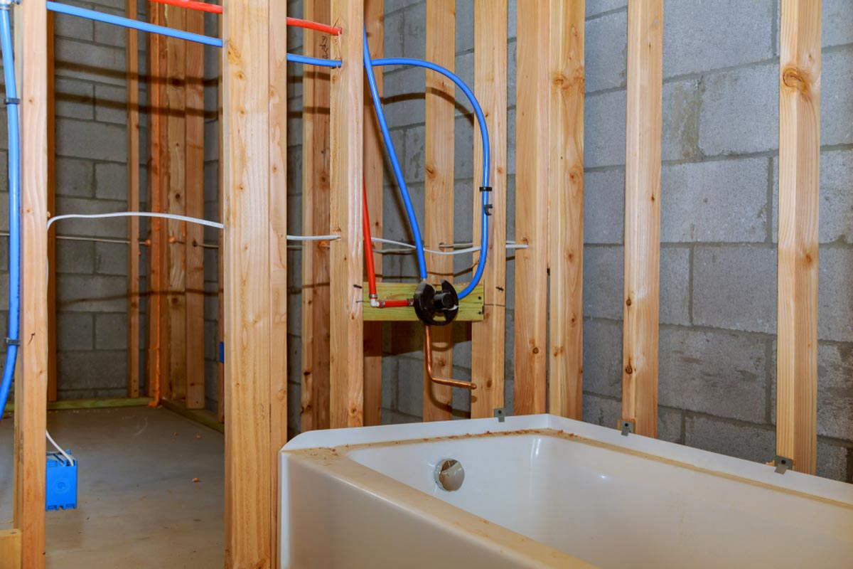 2019 plumbing installation costs cost to plumb repipe - How much does it cost to install a bathroom ...