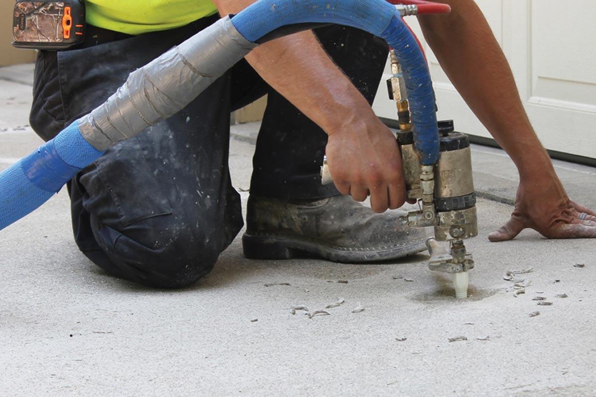 Concrete Leveling Foam Slab Jacking