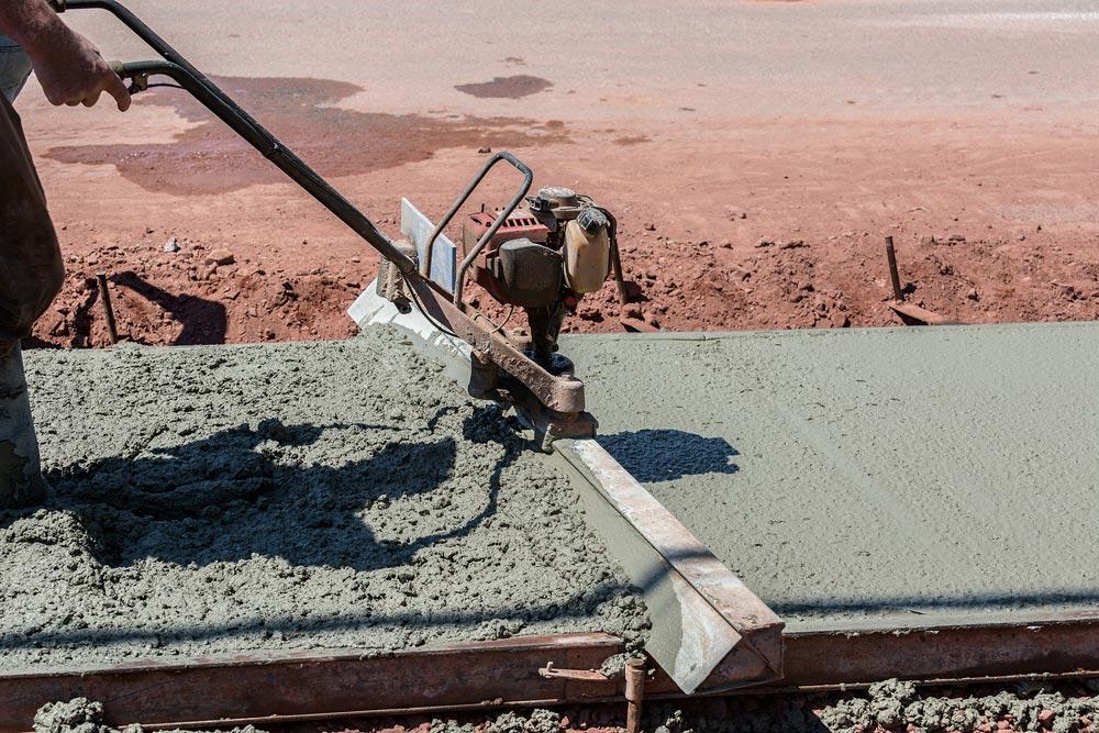 going price for concrete per yard