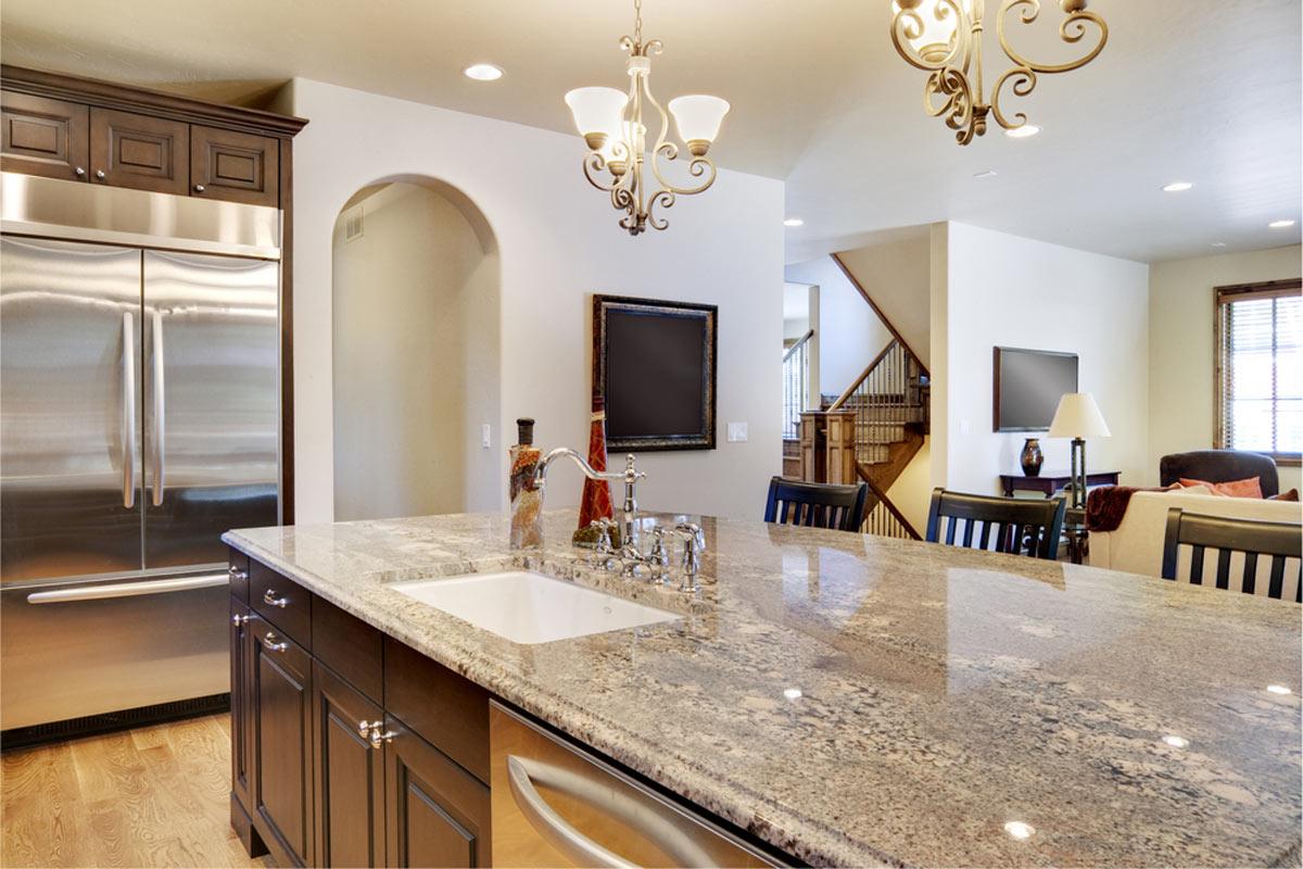 Image result for pink granite countertop