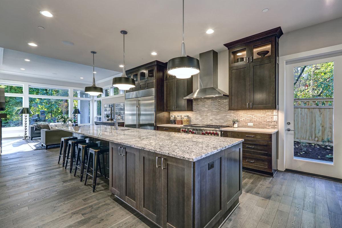 Luxury Level 3 Granite Installation For Kitchen Counters