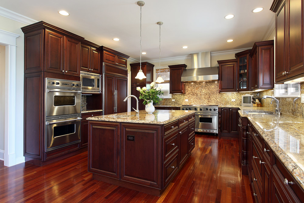 Cherry Kitchen Cabinets Cherry Wood Kitchen Cabinets