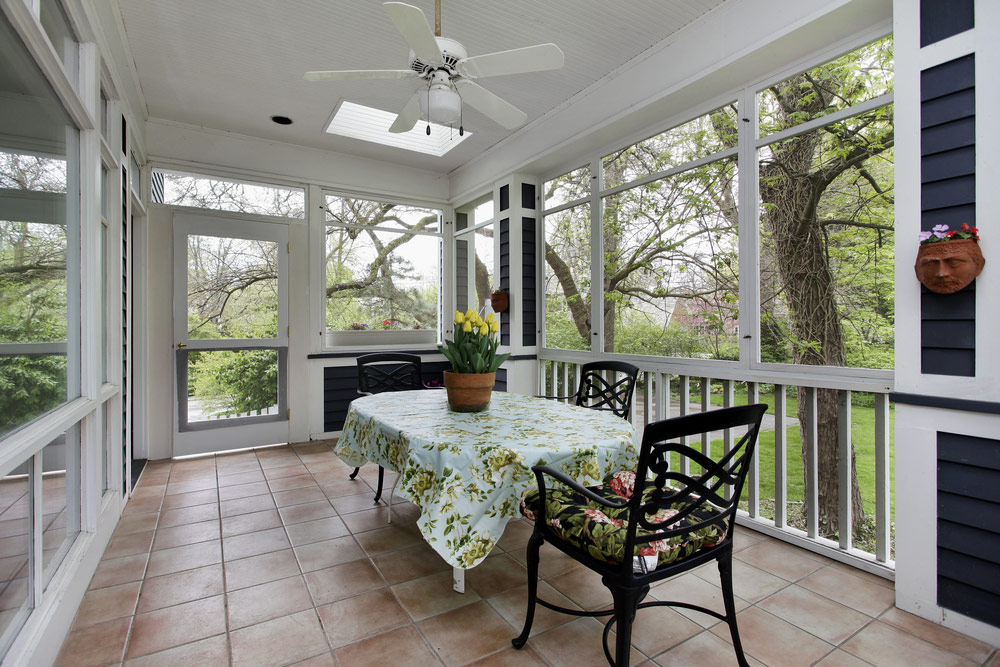 2021 Screened In Porch Cost Average To Build Homeguide