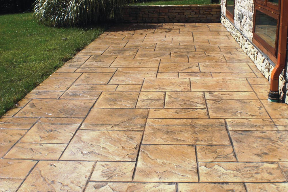 2020 Stamped Concrete Cost Patio Driveway Costs