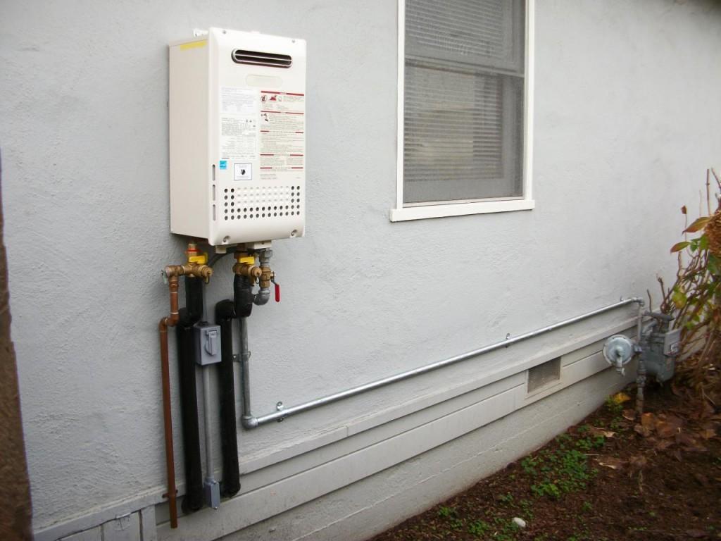 Chauffe-eau sans réservoir extérieur