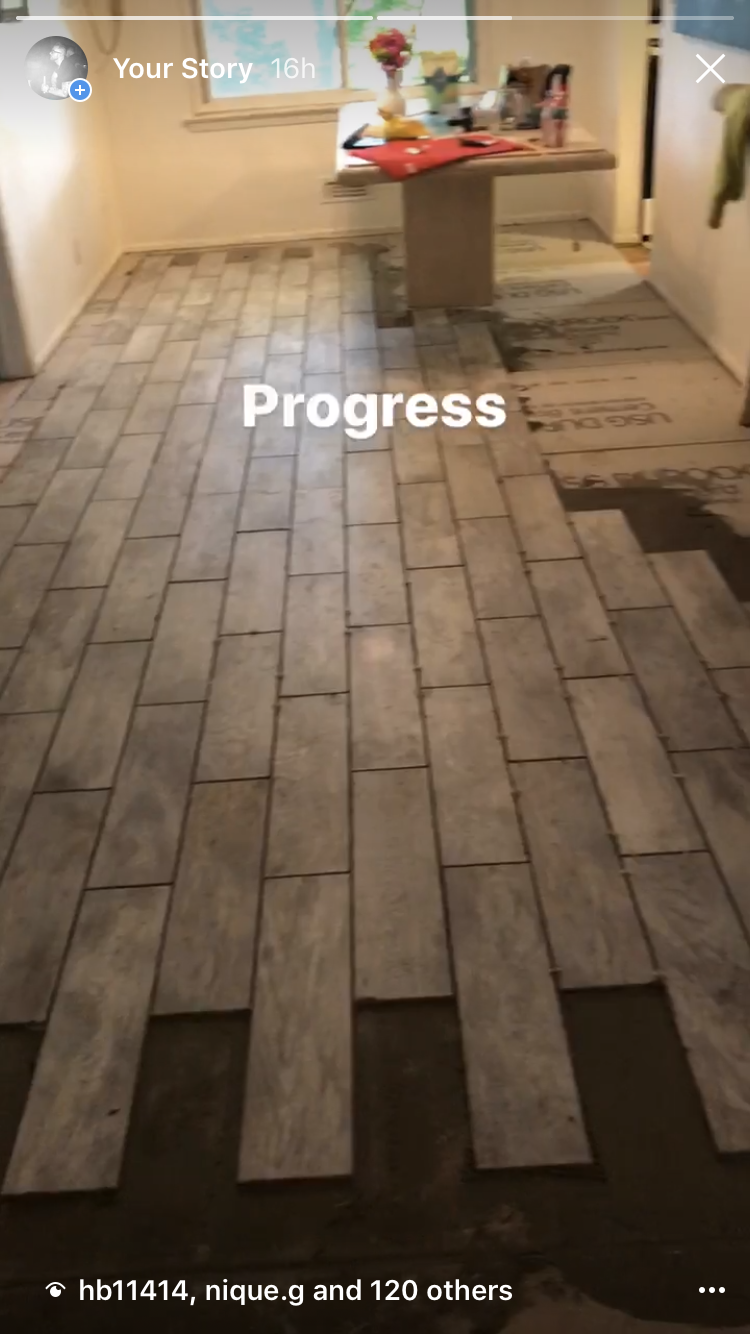 Tile by BLAISE construction