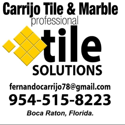 Carrijo Tile And Marble Installation